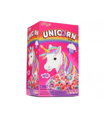 Kellogg's Limited Edition Unicorn Magic Cupcake Flavoured Cereal BIG BOX - 1.06kg (Contains 2 x 18.7oz (530g) bags) Food and Groceries Kellogg's
