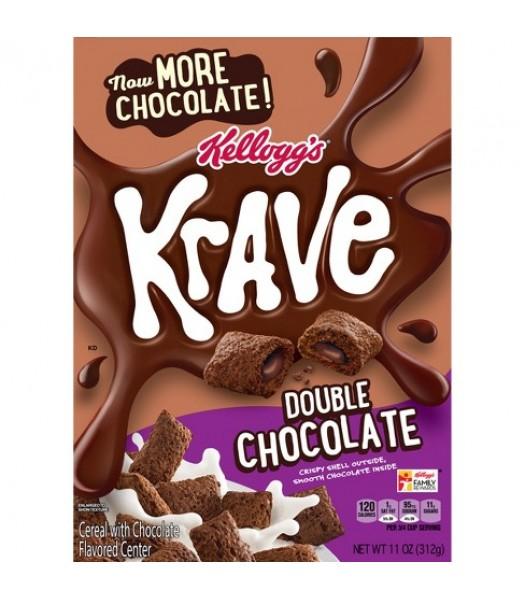 Kellogg's Krave Double Chocolate Cereal 11oz (311g) Food and Groceries Kellogg's