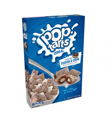 Kellogg's Pop Tarts Cereal Frosted Cookies & Creme - 11.2oz (318g) Food and Groceries Kellogg's