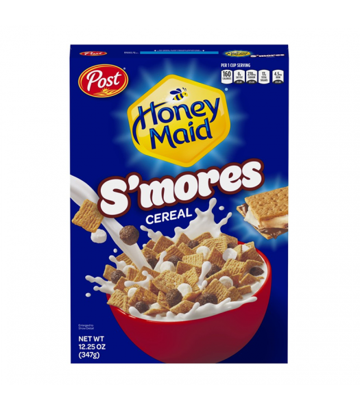 Post Honey Maid S'mores Cereal - 12.25oz (347g) Food and Groceries Post