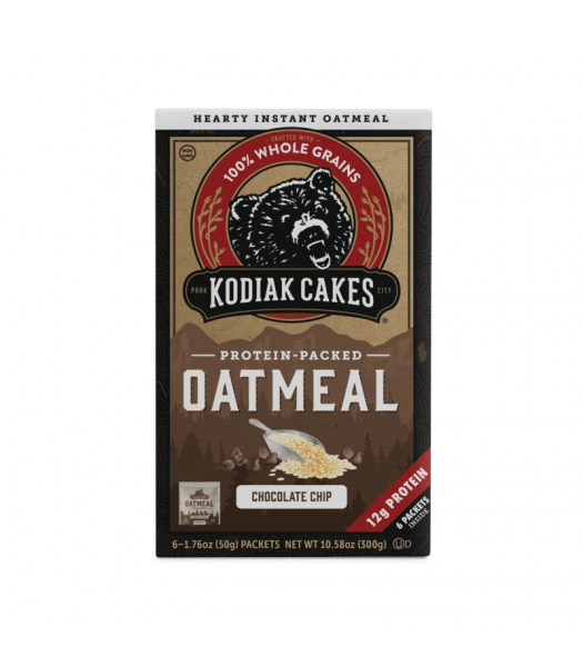Kodiak Cakes Chocolate Chip Oatmeal - 10.58oz (299g) Food and Groceries