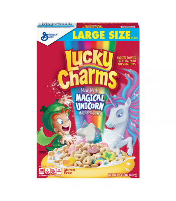 Lucky Charms Cereal 14.9oz (422g) Food and Groceries Lucky Charms