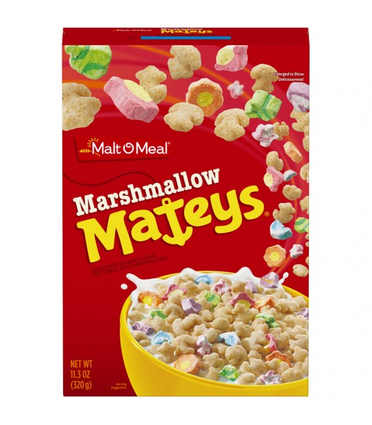 Malt-O-Meal Marshmallow Mateys Breakfast Cereal 11.3oz