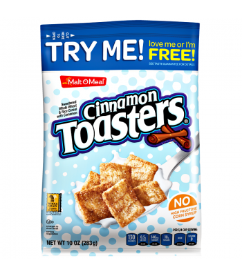 Malt-O-Meal Cinnamon Toasters Cereal 10oz (283g) Breakfast & Cereals