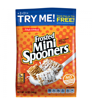 Malt-O-Meal Frosted Mini Spooners Cereal 12oz (340g) Breakfast & Cereals