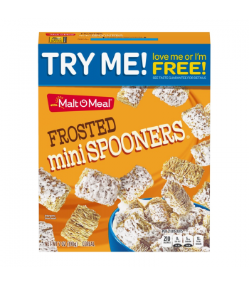 Malt-O-Meal Frosted Mini Spooners Cereal - 7oz (198g) Food and Groceries