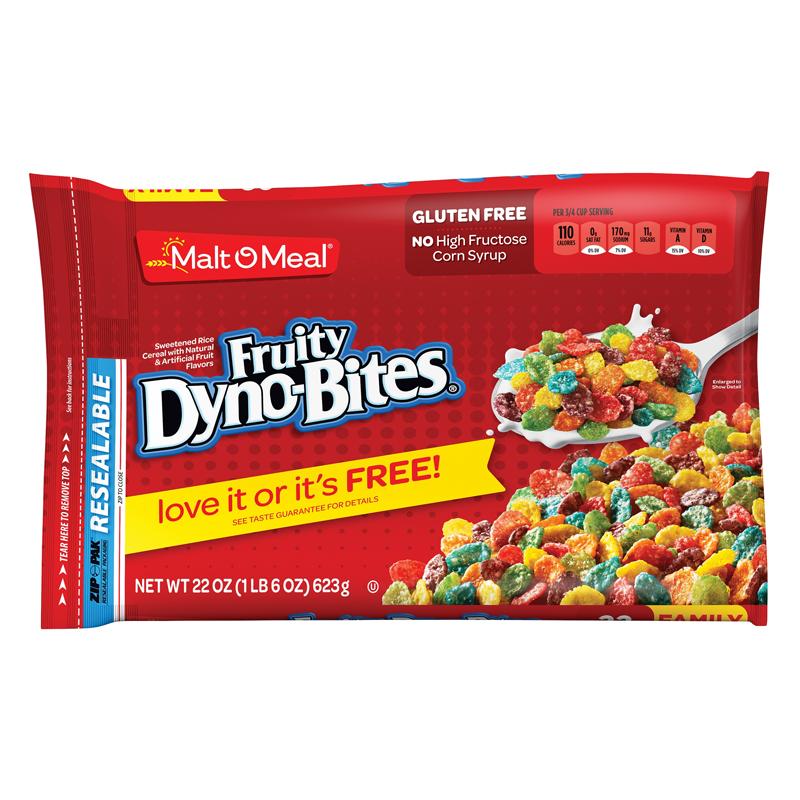 Malt-O-Meal Fruity Dyno-Bites Cereal 22oz (623g