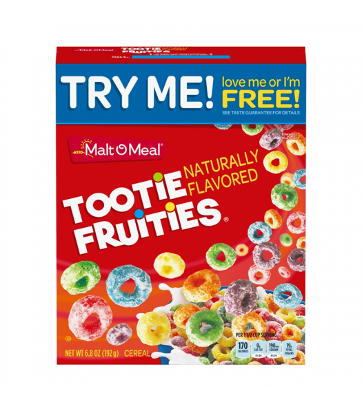 Malt-O-Meal Tootie Fruities Cereal - 6.8oz (192g) Food and Groceries