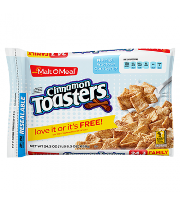 Malt-O-Meal Cinnamon Toasters Cereal 24.4oz (691g) Breakfast & Cereals