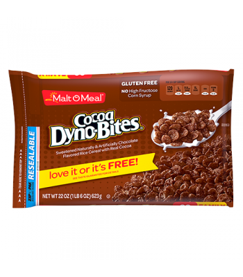Malt-O-Meal Cocoa Dyno-Bites Cereal 22oz (623g) Breakfast & Cereals