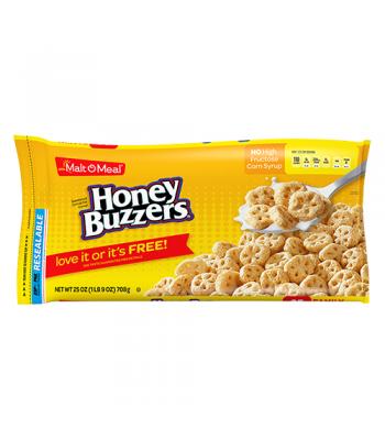 Malt-O-Meal Honey Buzzers Cereal 25oz (708g) Breakfast & Cereals