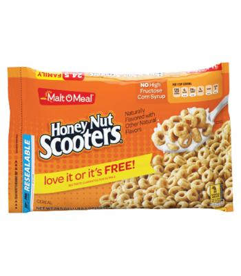 Malt-O-Meal Honey Nut Scooters Cereal 24.5oz (694g)  Breakfast & Cereals