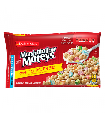 Malt-O-Meal Marshmallow Mateys Cereal 23oz (652g) Breakfast & Cereals