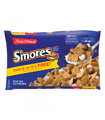 Malt-O-Meal S'mores Cereal 24oz (680g)  Breakfast & Cereals