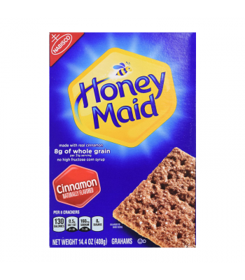 Nabisco Honey Maid Cinnamon Grahams Crackers - 14.4oz (408g) Food and Groceries Nabisco