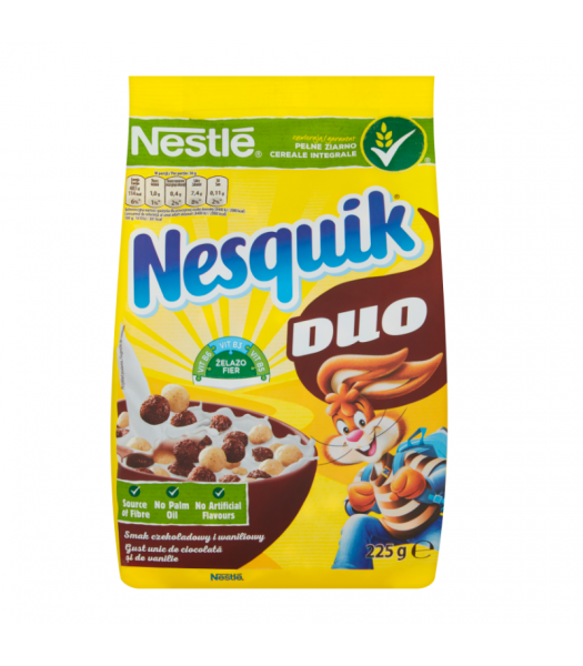 Nesquik Mix (Formerly Duo) Cereal - 225g (EU) Food and Groceries Nestle