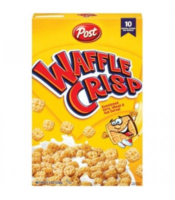 Post Waffle Crisp Cereal 11.5oz (326g) Food and Groceries Post