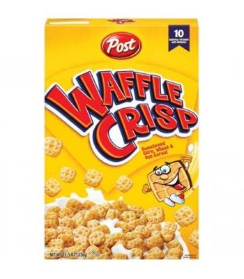 Post Waffle Crisp Cereal 11.5oz (326g) Breakfast & Cereals Post