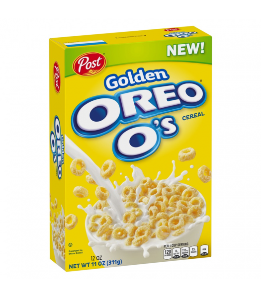 Post Golden Oreo O's - 11oz (311g) Food and Groceries Post
