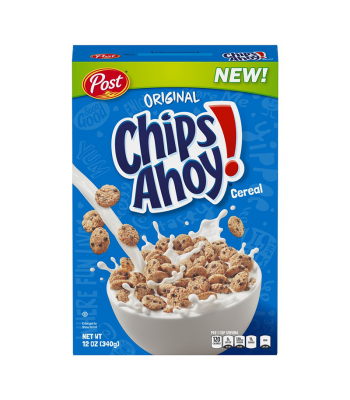 Post Chips Ahoy! Cereal 12oz (340g)
