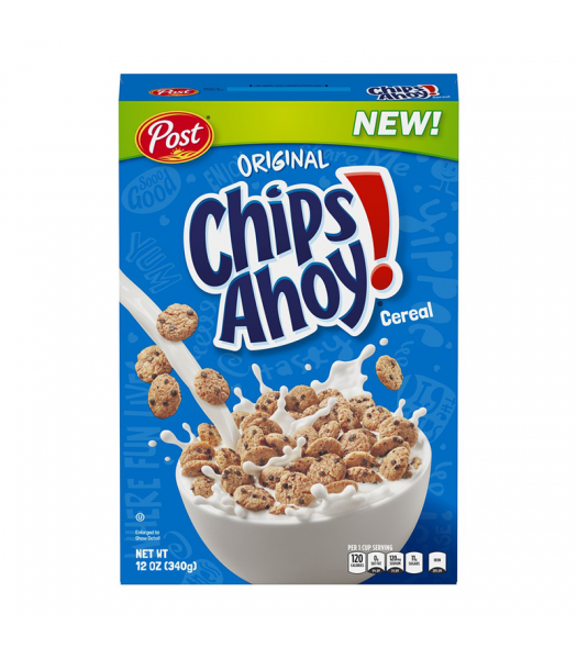Post Chips Ahoy! Cereal 12oz (340g) Food and Groceries Post