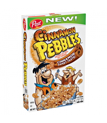 Post Cinnamon Pebbles Cereal 12oz (340g) Breakfast & Cereals Post