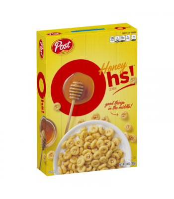 Post Honey Oh's! Cereal - 14oz (396g) Food and Groceries Post