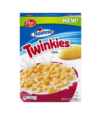 Post Hostess Twinkies Cereal - 12oz (340g) Food and Groceries Post