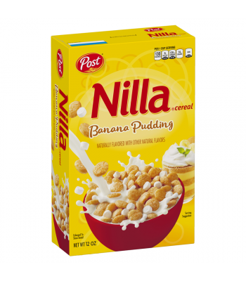 Post Nilla Wafer Banana Pudding - 12oz (340g) Food and Groceries Post
