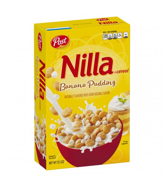 Post Nilla Wafer Banana Pudding - 12oz (340g) Food and Groceries Post