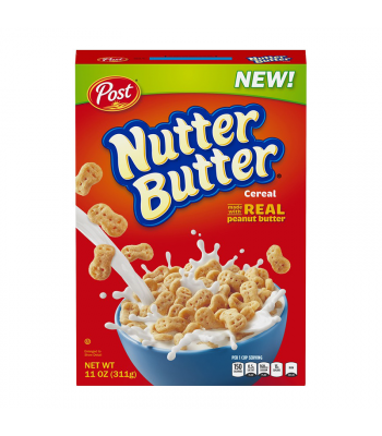 Post Nutter Butter Cereal 11oz (311g)
