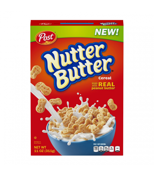 Post Nutter Butter Cereal 11oz (311g) Food and Groceries Post