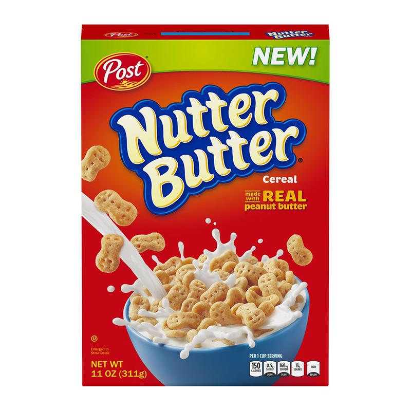 Post Nutter Butter Cereal 11oz (311g)