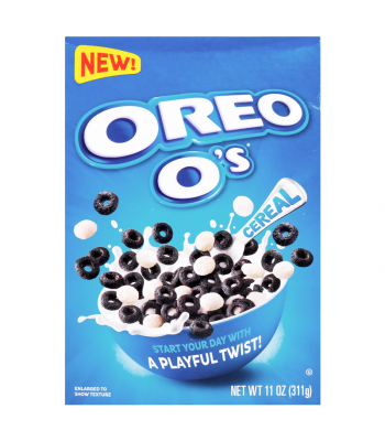 Post OREO O's Cereal - 11oz (311g) [Canadian Import] Canadian Products Post
