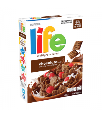 Quaker Life Chocolate Cereal - 13oz (370g) Food and Groceries Quaker