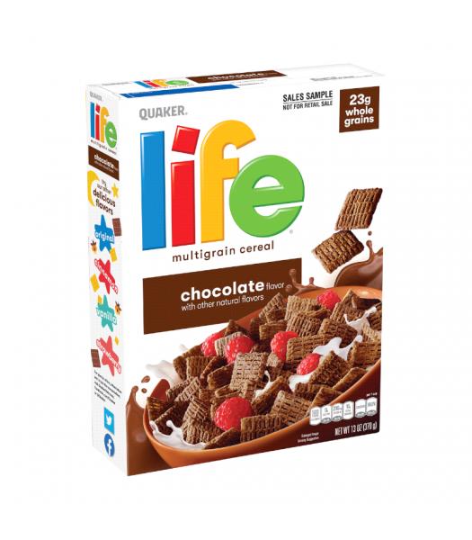 Quaker Life Chocolate Cereal - 13oz (370g) Food and Groceries Quaker