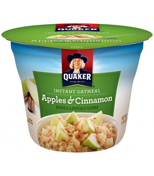 Quaker Oats Apple & Cinnamon Cup 1.51oz (43g) Food and Groceries Quaker