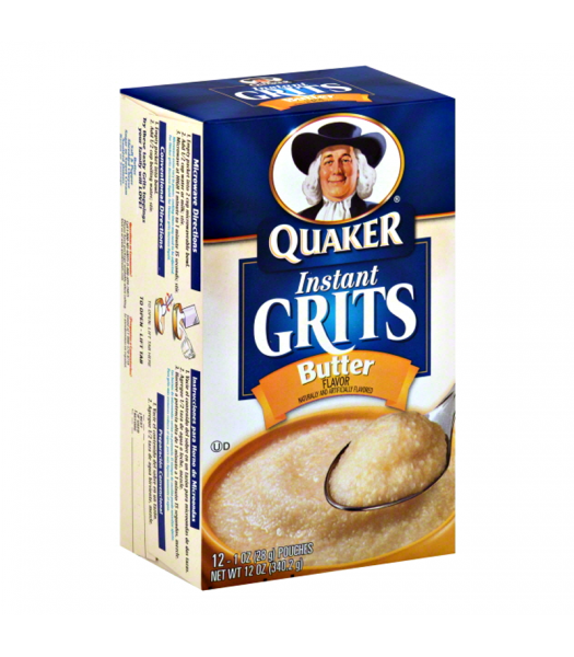 Quaker Instant Grits - Butter Flavour - 12oz (340.2g) Food and Groceries Quaker