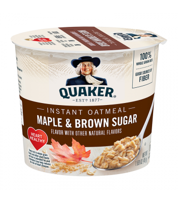 Quaker Oats Maple Brown Sugar Cup 1.69oz (48g)