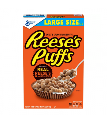 Reese's Puffs Cereal - 16.7oz (473g) Food and Groceries Reese's