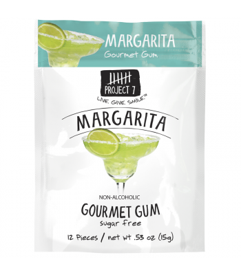 Project 7 Margarita Sugar Free Gourmet Gum 0.53oz (15g)
