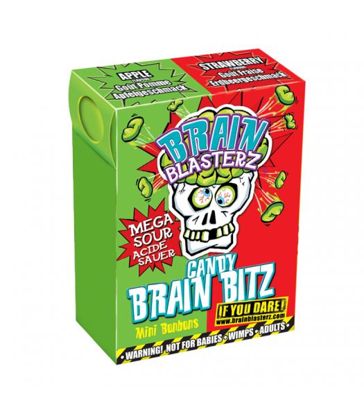 Brain Blasterz - Brain Bitz - Apple & Strawberry Flavour (45g) Soft Candy Brain Blasterz