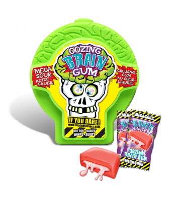Brain Blasterz - Oozing Brain Gum - Assorted Flavours