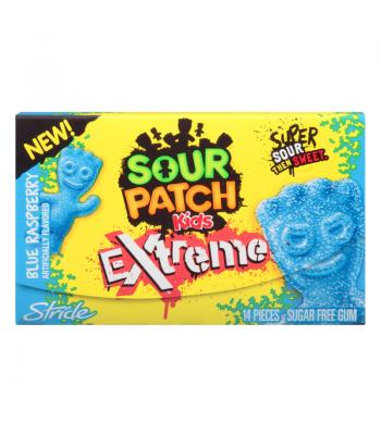 Stride Sour Patch Blue Raspberry Gum 14 piece