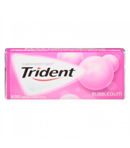 Trident Bubblegum 18 piece Bubble Gum Trident