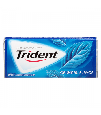 Clearance Special - Trident Original 18 Sticks ** Best Before 10th July 2016 ** Clearance Zone