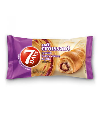 7 days Peanut Butter & Jelly Croissant 75g Danish