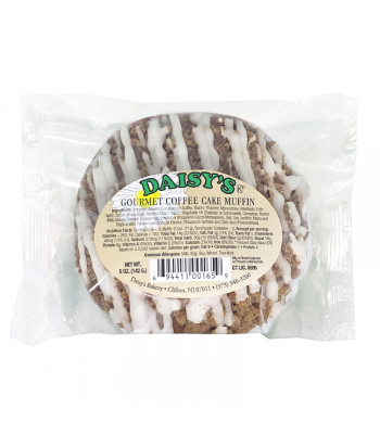 Daisy's Coffee Muffins - 5oz (142g) Cookies and Cakes