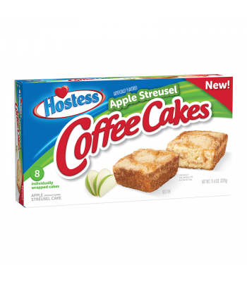 Hostess Apple Streusel Coffee Cake 8-Pack 11.6oz (329g)