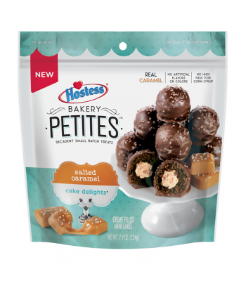 Hostess Bakery Petites Salted Caramel - 7.9oz (224g) Cookies and Cakes Hostess